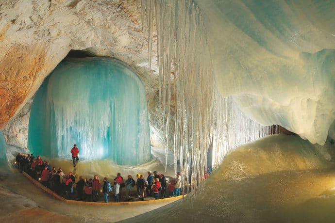Ausflugsziel Eisriesenwelt in Werfen