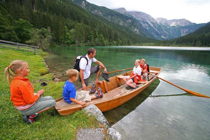 Jägersee in Kleinarl, Salzburger Land