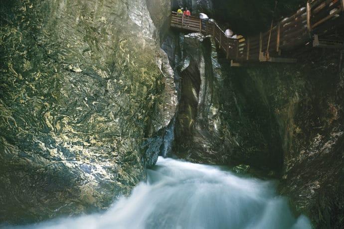 Ausflugsziel Liechtensteinklamm, St. Johann im Pongau