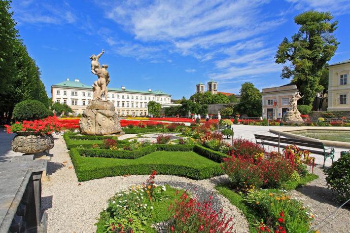 Ausflugsziel Mirabellgarten
