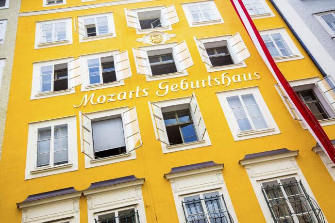 Ausflugsziel Mozart Geburtshaus