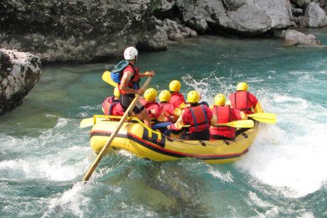 Sommerurlaub in Wagrain, Rafting