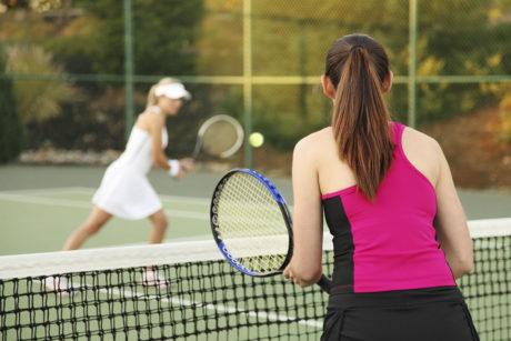 Sommerurlaub in Wagrain, Tennis