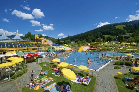 Sommerurlaub in Wagrain, Wasserwelt Wagrain