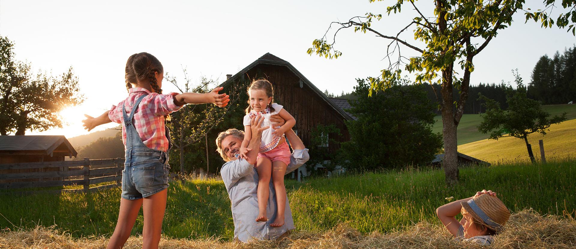Urlaub auf dem Bauernhof in Wagrain, Salzburger Land – Blankgut