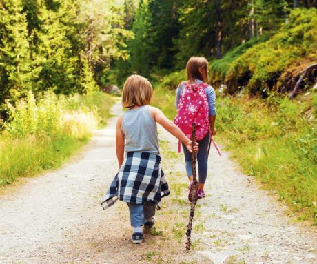 Familienurlaub am Bauernhof, hofeigene Alm - Blankgut