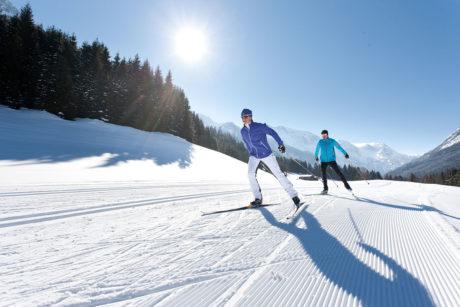 Winterurlaub in Wagrain, Langlaufen