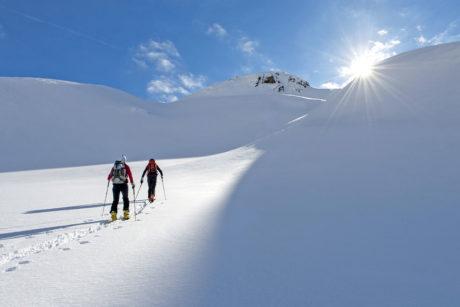 Winterurlaub in Wagrain, Skitouren